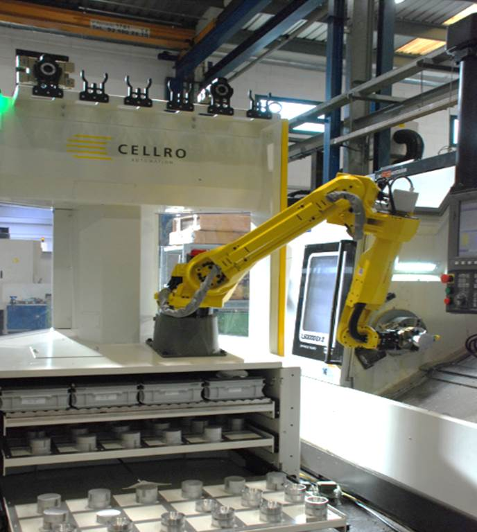 Robot CELLRO Xcelerate X20